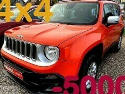 używany Jeep Renegade I Napęd 4x4 Bezwypadkowy Salon Polska I Właściciel 4x4 Limited