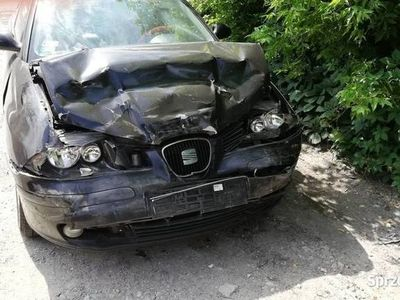 używany Seat Ibiza po wypadku