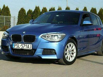 używany BMW 120 2dm 184KM 2015r. 122 000km