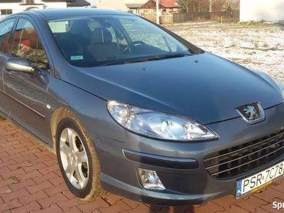 używany Peugeot 407 HDI 136KM TANIO