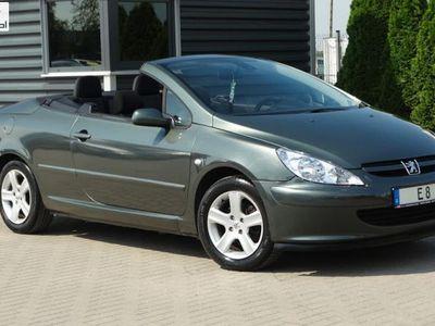 używany Peugeot 307 CC 2dm3 136KM 2004r. 133 000km