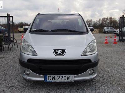używany Peugeot 1007 1.6 16V 109KM 2005r. 92tys. km. Półautomat, klimatyzacja, zadbany