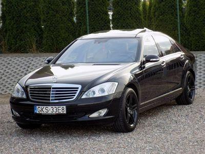 używany Mercedes S320 3.2dm 235KM 2007r. 212 000km