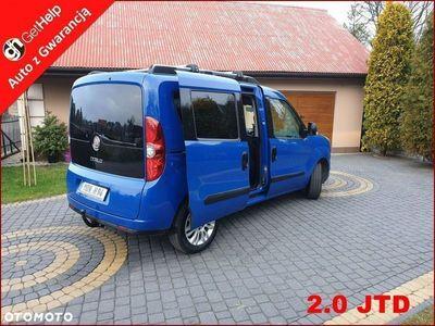 używany Fiat Doblò 2dm 135KM 2011r. 163 000km