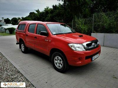 używany Toyota HiLux 2.5dm 144KM 2011r. 243 000km