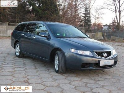 używany Honda Accord VII 2,2 i-CTDi 140KM, Serwisowany, Tapicerka Półskórzana, Tempomat !!!