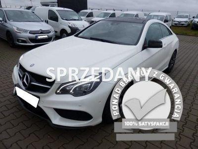 używany Mercedes E200 E 200 - BENZCOUPE AUTOMAT / Benzyna / Alu / FV 23% / Gwaranc W212 (2009-)