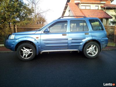 używany Land Rover Freelander 2000 r 2.5ccm benzyna LPG automat