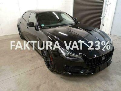 używany Maserati GranSport Quattroporte SQ4V6 430KM, europejska wersja, FV 23% VI (2013-)
