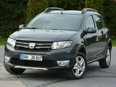 używany Dacia Sandero Stepway 1.5dCi(90KM)*88 tys.km*Duża Navi*Parktronic*Reling*Tempomat*ASO