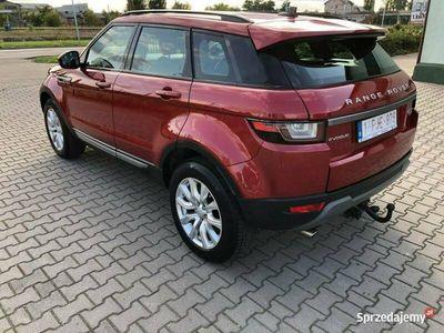 używany Land Rover Range Rover evoque 2.0Td, Skóra, LED, Alu 18, Czarna Podsufitka, Stan Idealny