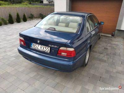 używany BMW 525 E39 i 192km. Jasne Skóry. LPG.