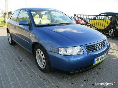 używany Audi A3 1,9 TDI KLIMA stan b.dobry opłacony przyg.do rejestracji 8L (1996-2003)