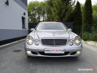 używany Mercedes E220 2.2 CDI 150KM # Klimatronik # Tempomat # Podgrzewane Fotele W211 (2002-2009)