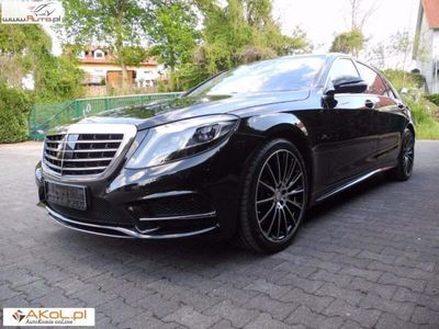 używany Mercedes S500 4.7dm3 455KM 2016r. 29 000km AMG 9G Burmester Full Faktura VAT
