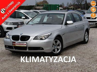 używany BMW 501 520 2dm 150KM 2006r.186km