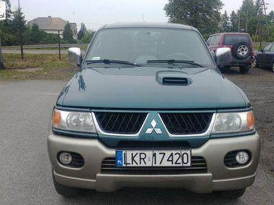 used Mitsubishi Pajero Pajero 2.5dm3 116KM 2005r. 197 450kmSport 2.5 116km 4x4 Klima Webasto