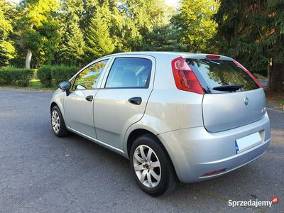 używany Fiat Grande Punto 2007r 1,4 benz + GAZ/LPG - 2 komplety kół