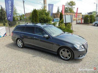 używany Mercedes E350 3dm 231KM 2010r. 220 000km