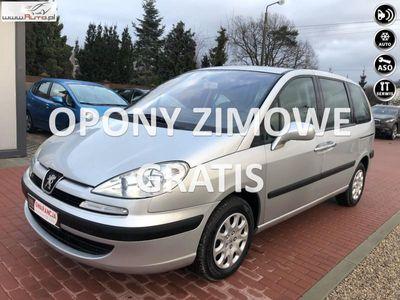 używany Peugeot 807 2.2dm3 158KM 2004r. 231 000km Skóra, Okazja,Serwis