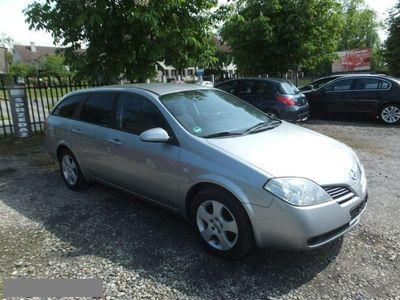 używany Nissan Primera 1.8 115ps, Po lifcie, Nawigacja, Kamera, Welury, Alufelgi P12 (2001-2007)