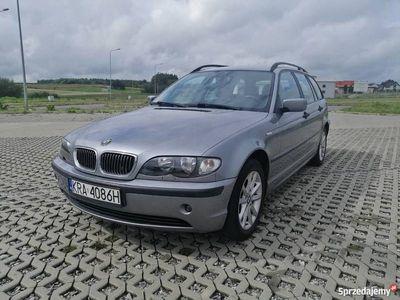 używany BMW 318 e46 i 143km książka serwisowa