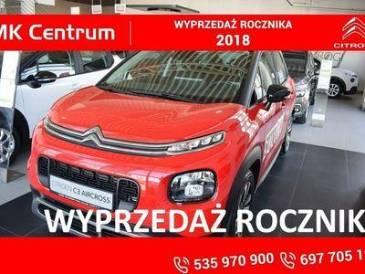 używany Citroën C3 Aircross 1.2dm3 110KM 2018r. 5km 1,2 110KM Shine - rabat 7000 zł klient indywidualny ! Wyprzedaż 2018