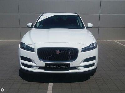 używany Jaguar F-Pace 2.0 i4D 180KM AWD AUTO Portfolio MY17 Auto demonstracyjne