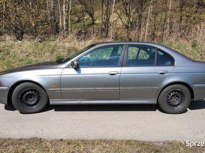 używany BMW 525 E39 d 2002 r., dwa kpl kół