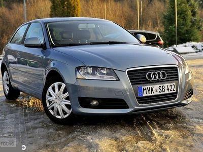 używany Audi A3 II (8P) 1.4Turbo Benzyna Klimatronic Zadbane wnętrze, Korzenna