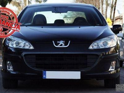 używany Peugeot 407 1.6dm3 109KM 2007r. 210 000km 1.6 HDI Climatronic - Skóra - Alkantara - Raty Zamiana Gwarancja