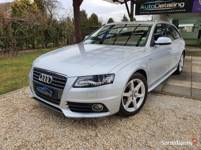 używany Audi A4 B8 S-Line 2.0 TFSI 180 KM