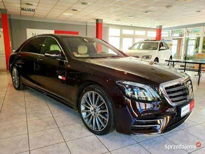 używany Mercedes S400 3dm 340KM 2017r. 49 500km