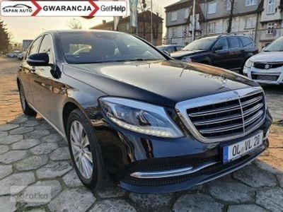 używany Mercedes 350 Klasa S W222 350CDI 286 KM Full Opcja