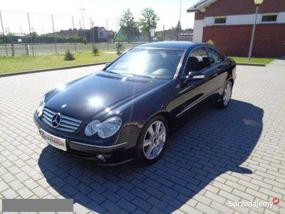 używany Mercedes CLK200 2.0 163PS Automat Czarny Alu Śliczny Gwarancja