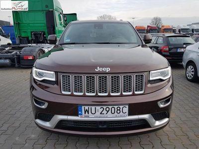 brugt Jeep Grand Cherokee 3dm3 250KM 2015r. 104 860km ABS automatyczna klima.