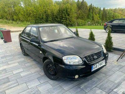 używany Hyundai Accent 1.5 benzyna +gaz stan tech perfect bez wkładu finansowego II (2000-2005)