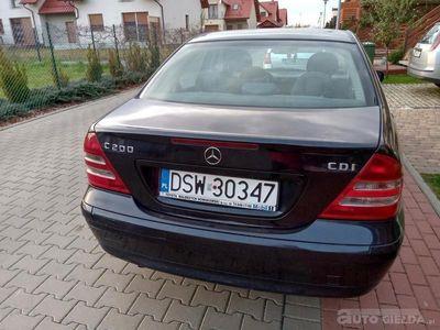 używany Mercedes C200 C 200 CDI W203CDI W203