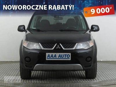 używany Mitsubishi Outlander II Salon Polska, Serwis ASO, 4X4, Xenon, Klimatronic,