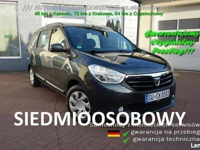 używany Dacia Lodgy mały przebieg jak Nawy z Niemiec 7 Osobowy, Zawiercie