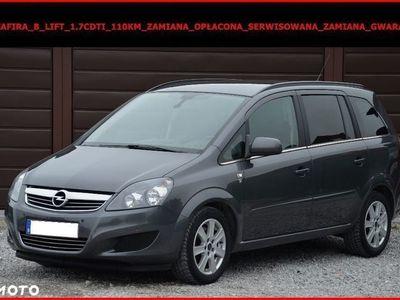 używany Opel Zafira B LIFT 1.7 CDTI 110KM ZAMIANA GWARANCJA SERWIS.
