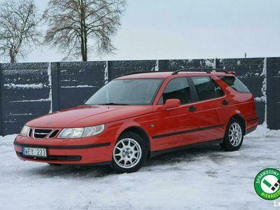 używany Saab 9-5 2.2dm 120KM 2004r. 326 392km