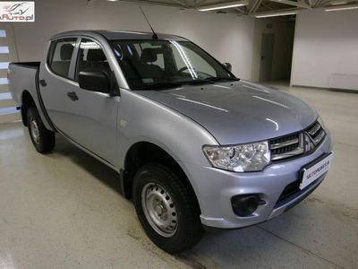 używany Mitsubishi L200 L200 2.5dm3 136KM 2014r. 92 425km2.5 D-ID 136KM PICKUP Invite AC D/CAB