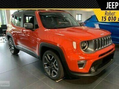 "używany Jeep Renegade Face lifting Limited 1.0 Turbo 120KM Kamera Cofania+ 19"" felgi aluminiowe+ Opcje"