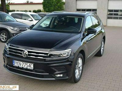 używany VW Tiguan Allspace 2dm 190KM 2018r. 53 000km
