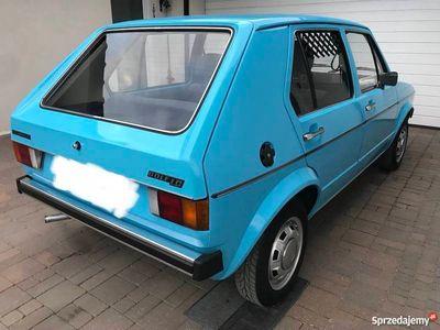 używany VW Golf I Mk1 1977r 1.5 Diesel Orginał Zadbany typ17