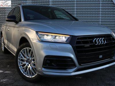 used Audi Q5 2dm3 190KM 2018r. km Od ręki * Taniej o 58 407* WYPRZEDAŻ ROCZNIKA w aso * Panorama* HAK