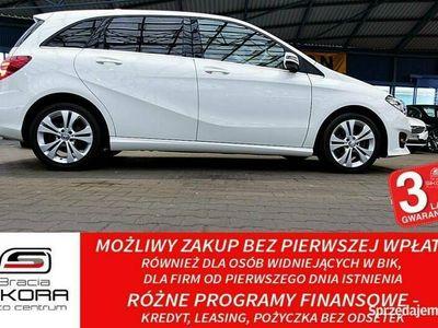 używany Mercedes B180 3 Lata GWARANCJA Bezwypadkowy AUTOMAT+FullLED+SKÓRA+NAVI FV23%