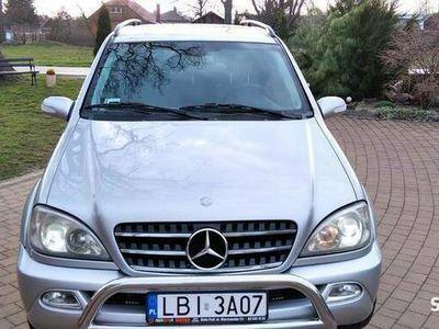 używany Mercedes ML400 CDI AMG ładny zadbany stan