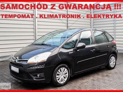 używany Citroën C4 Picasso I Tempomat + Klimatronik + GWARANCJA !!!, Leszno